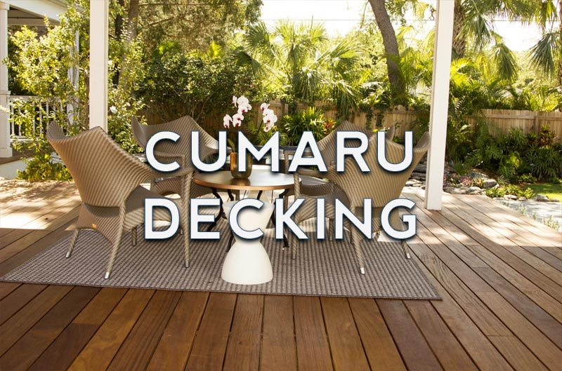 Cumaru Decking Element