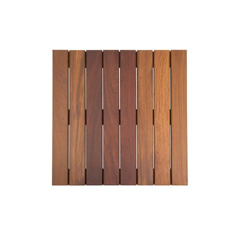 X Cumaru Smooth Deck Tiles Wi