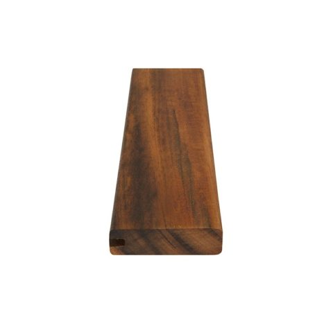 X Tigerwood Pregrooved One Side Wi