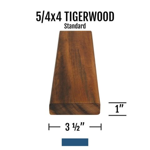 X Tigerwood Standard