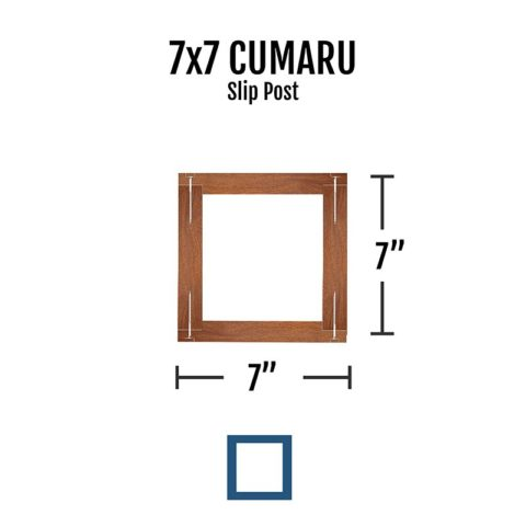 Slip Post Cumaru