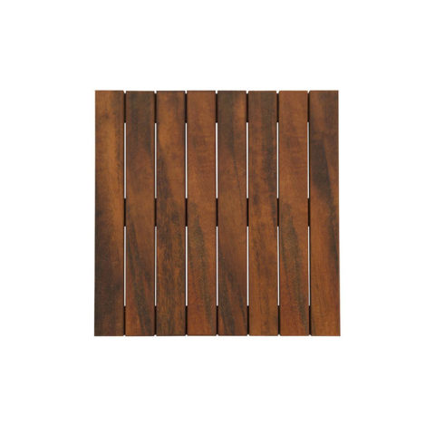 X Tigerwood Smooth Deck Tiles