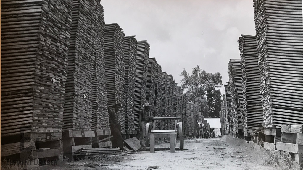 Family-Owned Lumber Storage Yard